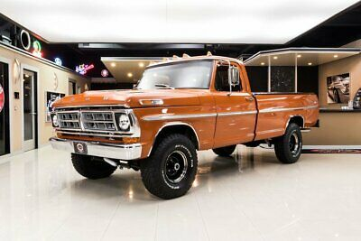 1971 Ford F100 4X4 Pickup Frame Off, Nut & Bolt, Rotisserie Build! Ford 360ci V8, 4-Speed Manual, PS, 4X4