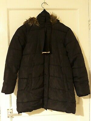 Girls Hooded Coat Age 11-12 Years (M&S ) used.