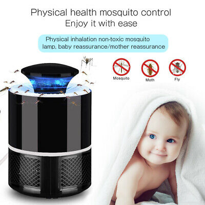 Electric Insect Mosquito Fly Killer Bug Zapper Lamp UV Home Kitchen Indoor UK