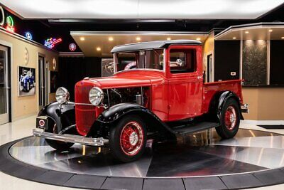 1932 Ford Pickup Street Rod Fully Restored! Ford 274ci Flathead V8, 3-Speed Manual, Steel Body, Boxed Frame