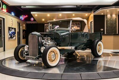 1929 Ford Model A Pickup Street Rod Model A, Roadster Pickup! GM 327ci V8, TH350 Automatic, Pete & Jakes, All Steel