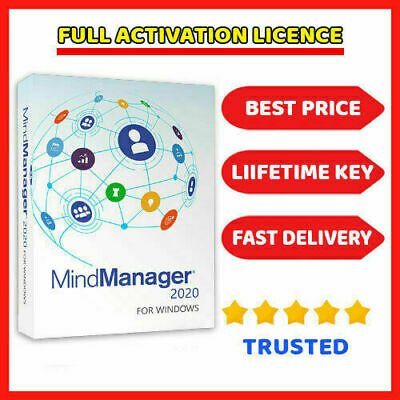 Mindjet MindManager 2020 Official Download + License Key Instant Delivery