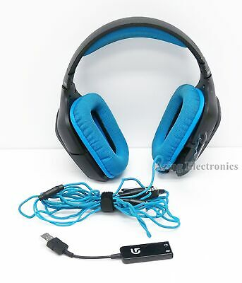 Logitech G430 7.1 Dolby Surround Sound Wired Gaming Headset