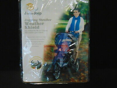 Jeep Jogging Stroller Weather Shield ~ Fits Most Jogging Strollers New