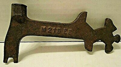 Antique John Deere Moline Multi Tool Wrench Tractor Plow Implement Tool