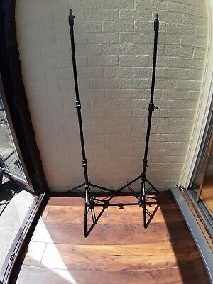 2 x Manfrotto Lighting Stands