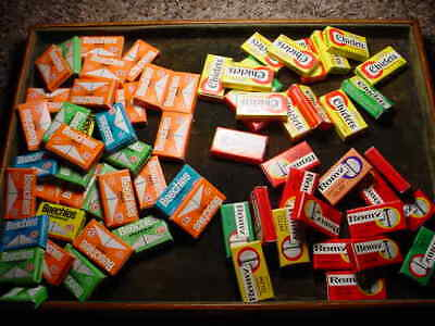 Vintage  Lot #2 69 Sm. Packages Gum  Beechies, Chiclets & Romy Assorted Flavors