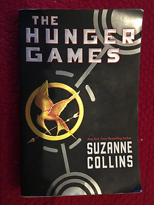The Hunger Games Paperback Book by Suzanne Collins