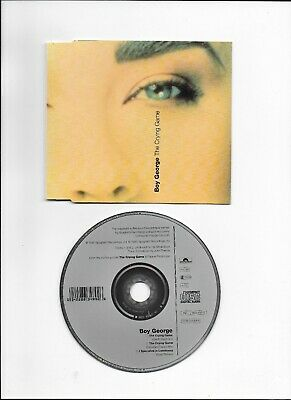 Boy George Culture Club The Crying Game Rare 3-Track Cd Single