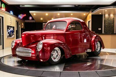 1941 Willys Coupe Street Rod Willys Coupe! Shafiroff GM 468ci V8, TCI TH400 Auto, Outlaw Body, 4-Wheel Disc