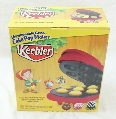 Red Uncommonly Good Keebler Cake Pop Maker, makes 7 cake pops at a time
