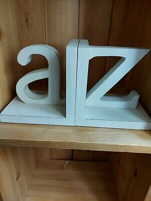 A - Z book holders Great quality rustic design