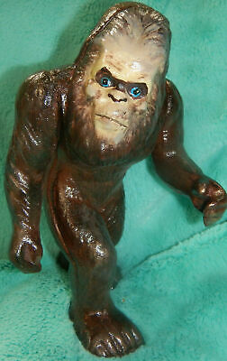 BIGFOOT SASQUATCH CAST IRON COIN BANK * Never Used