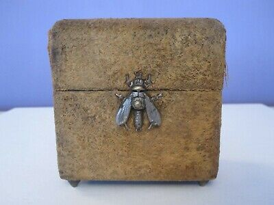 Antique French Perfume Casket Baccarat