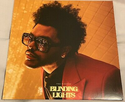 """The Weeknd - Blinding Lights Rare Collectors UK Release 7"""" Vinyl Single Sealed"""