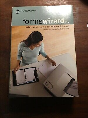 Franklin Covey Forms Wizard V. 4