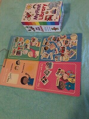 My First Library Books and Magnetic Play Board