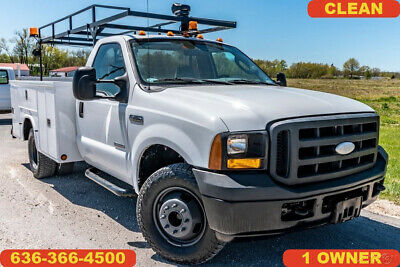 2007 Ford F350 Super Duty Used service utility work truck 1 owner clean diesel