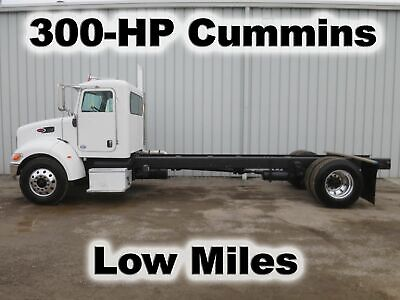 335 8.3 Cummins Isc 300-Hp Straight Frame Cab Chassis   Truck Low Miles