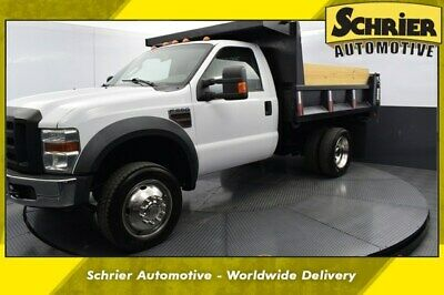 2009 Ford F-550 XL 2009 Ford F-550SD XL 70,988 Miles Oxford White Clearcoat 2D Standard Cab Power S
