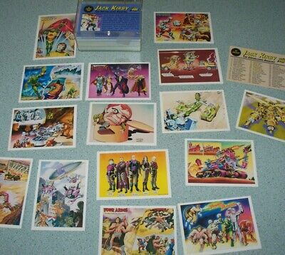 1994 Jack Kirby The Unpublished Archives Art 90 Card Trading Set Comic Images