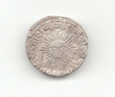 Indore Silver 1897 Rupee-Lot A3