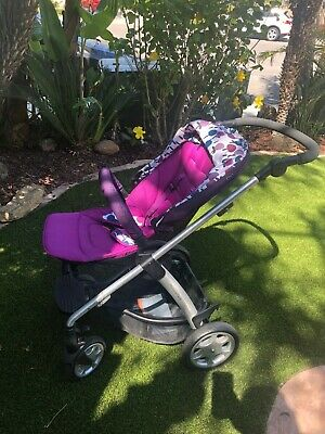 Purple Mamas & Papas Stroller