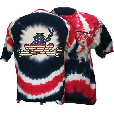 Red White Blue Peace Frog Tshirt