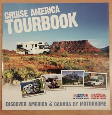 Cruise America Tour book NEW