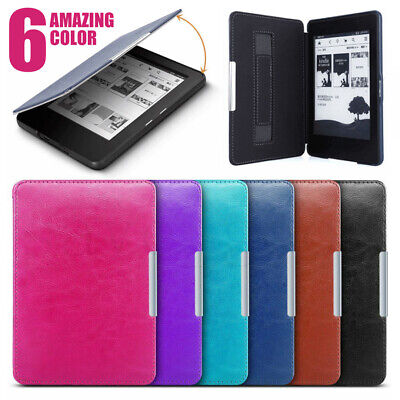 Soft Magnetic Smart Leather Case Cover For Amazon Kindle Paperwhite 1 2 3 4 2018
