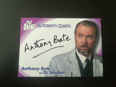 The Saint Sa5 trading card signed by Anthony Bate Autograph