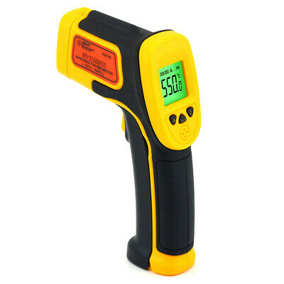 No-Contact IR Pyrometer Infrared Industrial Thermometer Gun Digital Laser Therm