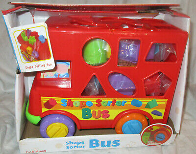 Funtime Shape Sorter Bus NEW