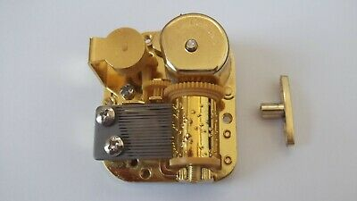 Blue Danube Musical Music Box Replacement Movement High Quality Single Melody