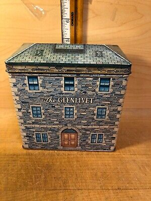The Glenlivet 12 Year Old Unblended Scotch Whisky Tin (EMPTY) England