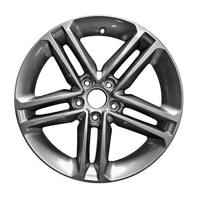 70907 Reconditioned OEM Factory Aluminum 17x7 Wheel Painted Charcoal