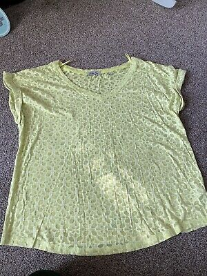 Next Maternity Green Top Size 10