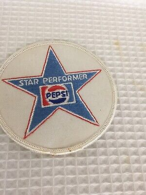 Vintage Star Performer Pepsi Patch