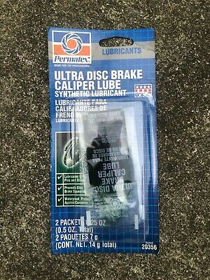 Permatex Ultra Disc Brake Caliper Lube Synthetic Lubricant