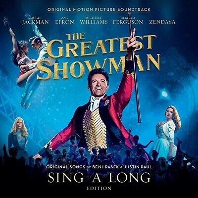The Greatest Showman-Deluxe Sing A Long Edition Soundtrack 2-CD (NEW) This Is Me