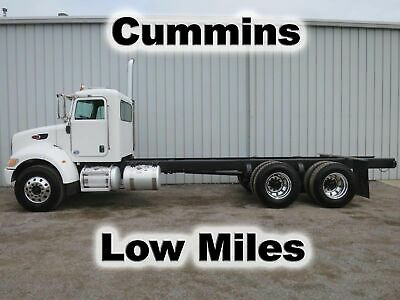 340 8.3 Cummins 8Ll Trans Tandem Axle Cab Chassis Straight Frame Truck Low Miles