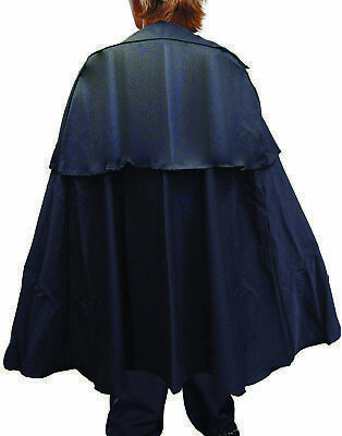 Dickens Cape Child / Teen Black Child Unisex Costume