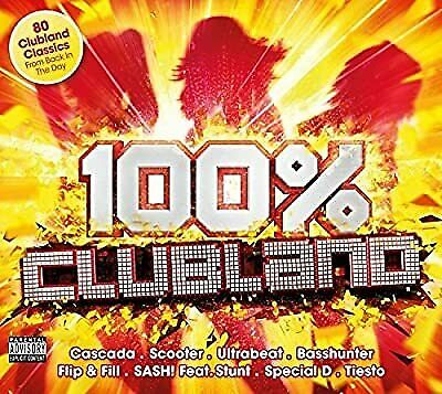 100% Clubland, Various Artists, Used; Good CD