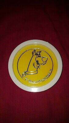 Vintage collector Hanna Barbera Scooby Doo drinking coaster marked 1982