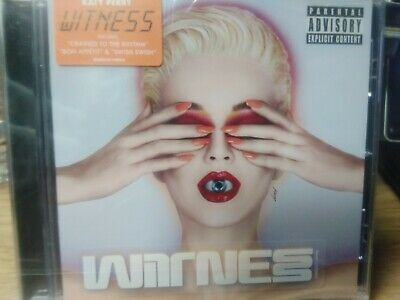 katy Perry -Witness  CD new sealed
