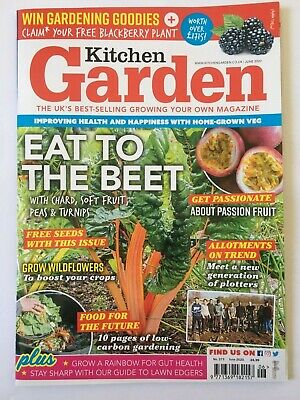 Kitchen Garden Magazine June 2020 UK's Best Selling Grow Your Own Vegetable Used