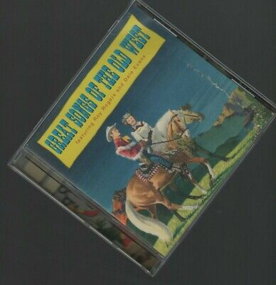 Great Songs of the Old West Roy Rogers Dale Evans Country Western Music CD