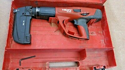 Hilti DX 460 Powder Actuated Tool With MX72 Attachment in Hard Case