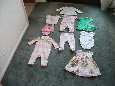 Girls Monsoon / Ted Baker / Ralph Lauren / Blue Zoo Clothes Bundle 3 - 6 Months.
