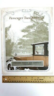 1919 PACKARD 3-25 & 3-35 - Part Color Catalog - Fair to Good Condition - (US)